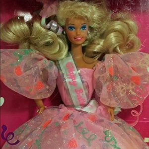 1990 Happy Birthday Barbie